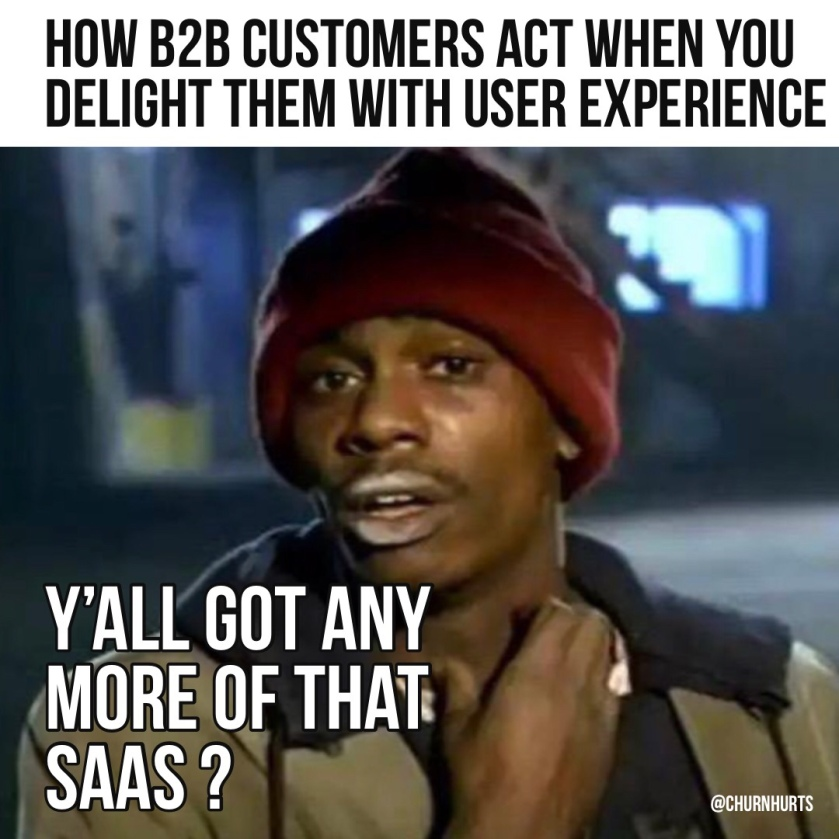 Customer Experience CX MEME | theb2breport.com